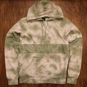 zumiez zine tyree colorblock jade tie dye hoodie